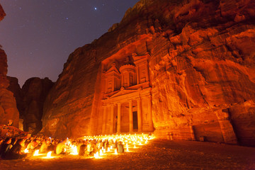 Arabian Nights at Petra