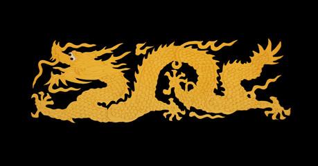 gold dragon paint