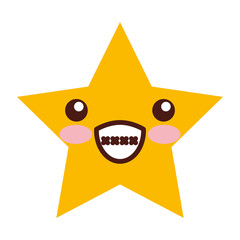 universe star comic character vector illustration design kawaii