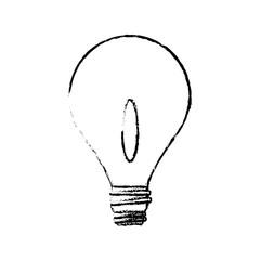 bulb light business idea creative power vector illustration