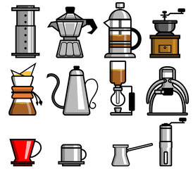Coffee Manual Brewers