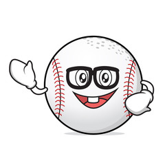 Geek baseball cartoon character collection