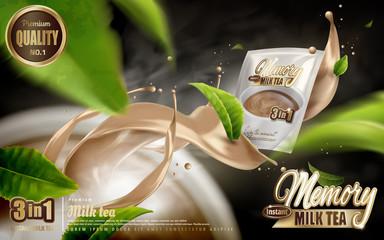 milk tea ad
