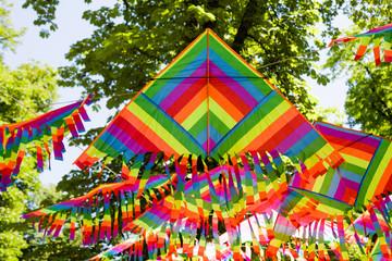 colorful kite decoration