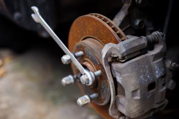 Repair car brake