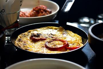 fritata italian egg omelette