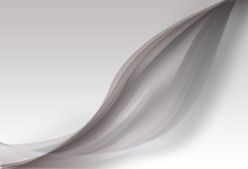 Abstrat curves on gradient color background