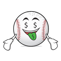 Money mouth baseball character collection