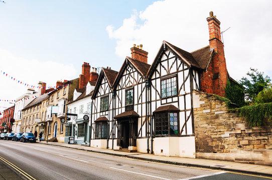 Stratford upon Avon, UK. Old historical buildings