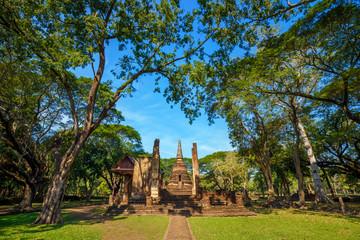 Wat Nang Phaya at Si Satchanalai Historical Park, a UNESCO World Heritage Site in Thailand