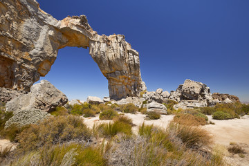 The Wolfsberg Arch in the Cederberg Wilderness in South Africa