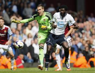West Ham United v Tottenham Hotspur - Barclays Premier League