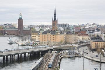 Cityscape of Stockholm; Sweden