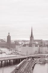 Cityscape in Stockholm; Sweden