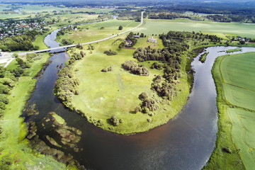 River Venta near Skrunda, Latvia.