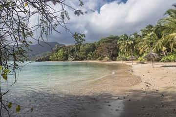 Scenic view of Secret Island