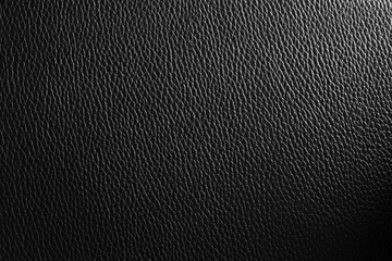 Abstract leather texture in theme of black  background