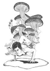 Mushroom stance