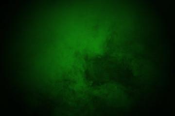 color powder explosion on black background.