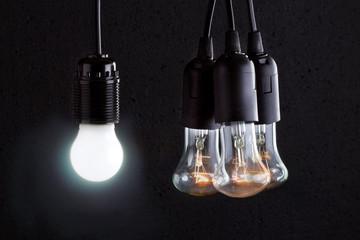 Различные типы ламп для освещения