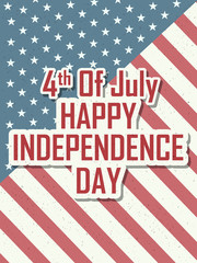 4th of July Happy Independence Day America background