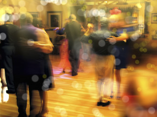 dancing indoor
