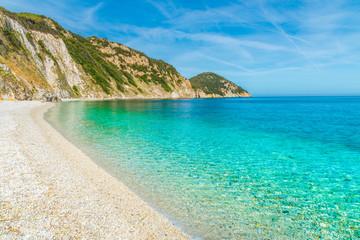 Wall Mural - Sansone beach with amazing turquoise water, Elba Island, Tuscany,Italy.