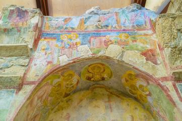 The beautiful fresco