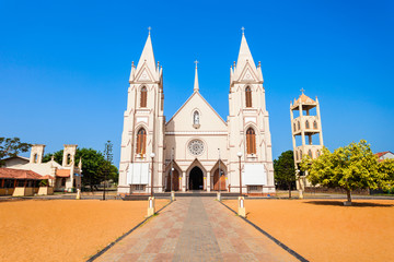 Catholic church in Negombo