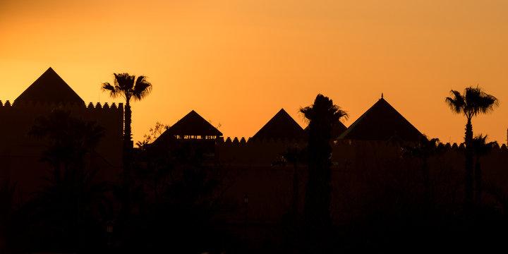 Marrakech silhouette