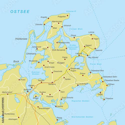 Rügen Karte.Rügen Karte Orange Stockfotos Und Lizenzfreie Vektoren Auf