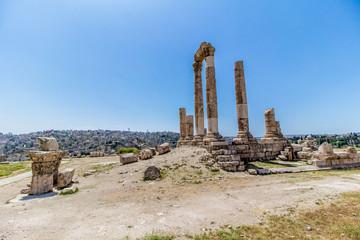 The Temple of Hercules in Amman, Jordan