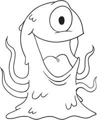 Monster Vector Illustration Art