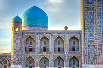Tilya Kori madrasah, Registan, Samarkand Fototapete