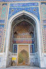 Tilya Kori madrasah, Registan, Samarkand