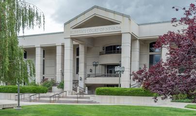 The Nevada Supreme Court building in Carson City