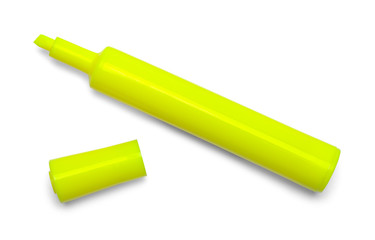 Marker Highlighter Yellow Open