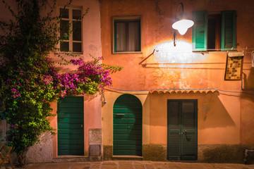 Wall Mural - Capoliveri village, Elba island, Tuscany.