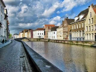 Strolling in Bruges