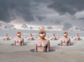 Surrealist Art breakfasts