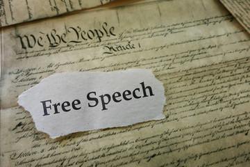 Freedon of Speech