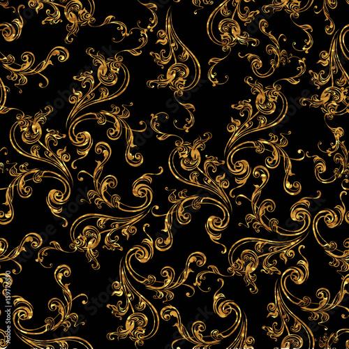 vintage background antique victorian gold ornament baroque frame