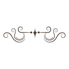 Elegant Victorian style design vector illustration design