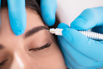 Laser Treatment At Beauty Clinic