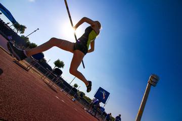 Pole Jump Run
