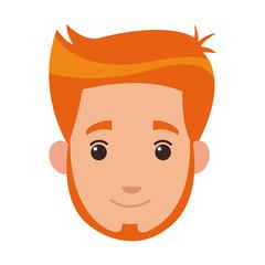 profile man avatar male portrait image vector illustration