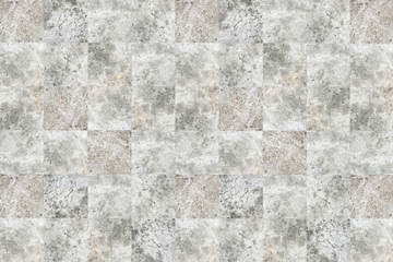 Elegant concrete block wall square parts background.
