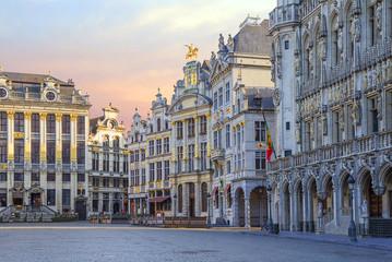 Бельгия. Брюссель. Гранд-Плас.