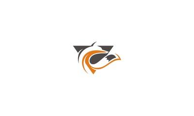 fox emblem symbol icon vector logo