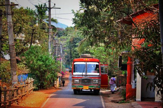 Bus of Margao